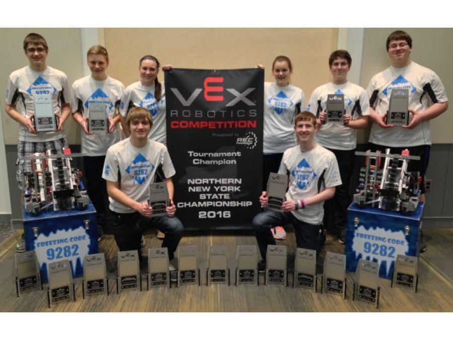 I Heart Oswego - Local Vex Robotics Team Wins Third State Championship