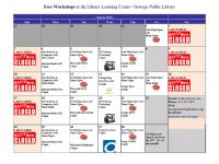 March 2019 Events at Oswego Public Library