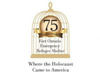 Fort Ontario Emergency Refugee Shelter Adopts 75th Anniversary Commemorative Logo