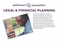 "Cornerstone Club in Fulton to Host Alzheimer's Association Workshop - ""Legal and Financial Planning"" on May 14"