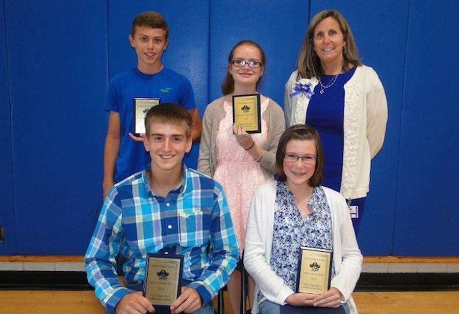 I Heart Oswego Academic Success Awarded At OMS