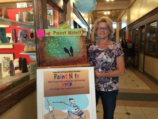'Birds On A Wire' Paint Nite at Canal Commons August 3